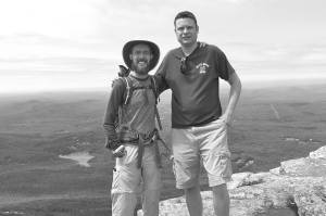 One last leisurely hike (on Mt. Mondadnock) with my friend Dave before I depart